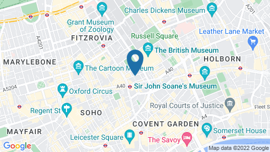 The Bloomsbury Map