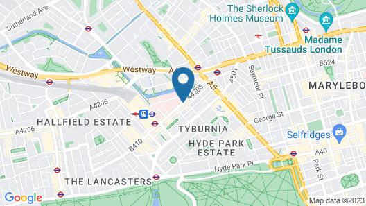 Paddington Apartments Map