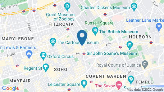 St Giles London - A St Giles Hotel Map