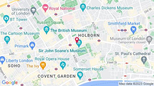 Rosewood London Map
