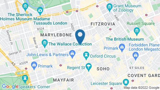 Treehouse Hotel London Map