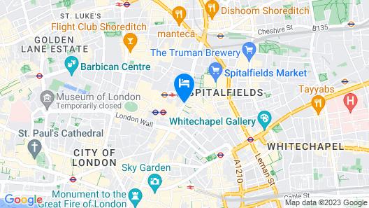 196 Bishopsgate Map