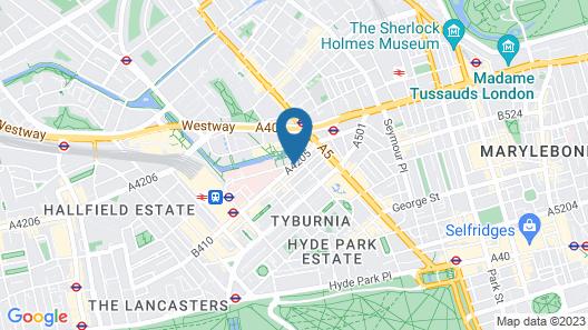 Point A Hotel - Paddington (Newly Refurbished) Map