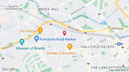 Tria Hotel Map