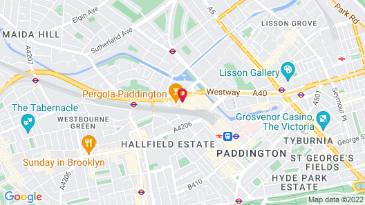 Novotel London Paddington Map
