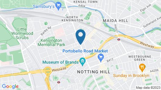 Portobello House Hotel Map