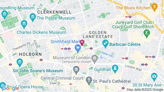 Malmaison London Map