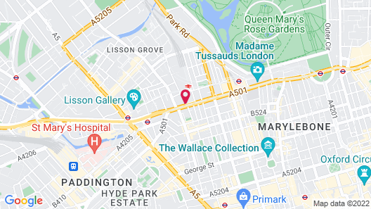 The Landmark London Map