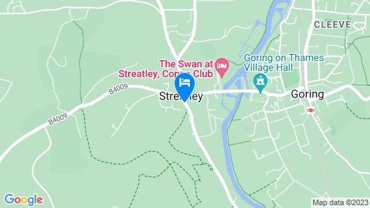 YHA Streatley - Hostel Map