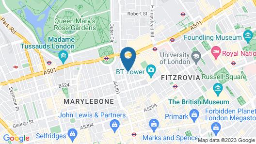 Holiday Inn London - Regent's Park Map