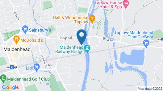 River Arts Club Map