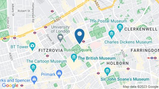 Kimpton Fitzroy London, an IHG Hotel Map