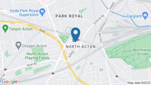 Holiday Inn Express London - Park Royal Map