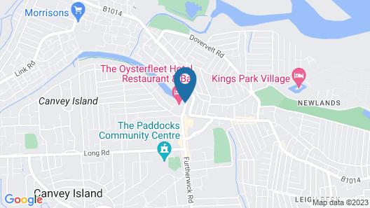 Oyster Fleet Hotel Map