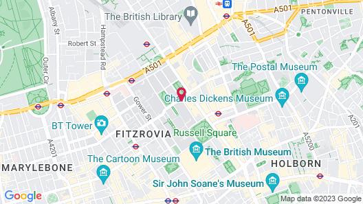 Tavistock Hotel Map
