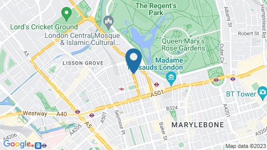 Park Avenue Baker Street Map
