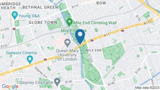 New Globe Hotel Map