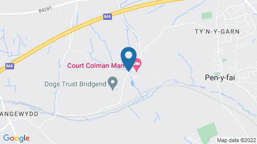 Court Colman Manor Map