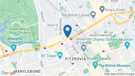Euston Square Hotel Map