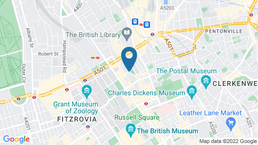 Judd Hotel Map