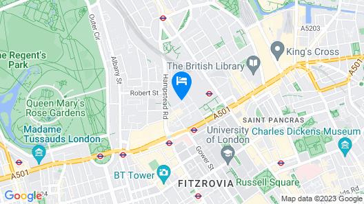 Publove @ Exmouth Arms Euston Map