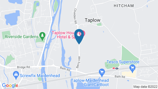 Taplow House Hotel Map