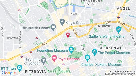 King's Cross Hotel Map