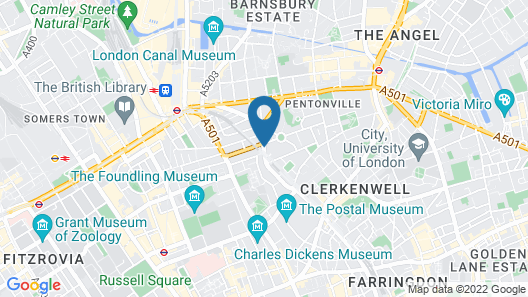 Clink78 Hostel Map