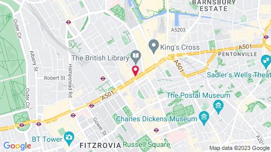 Pullman London St Pancras Map