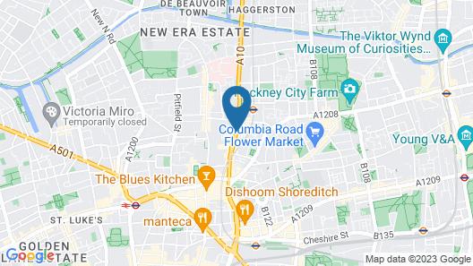 Central Hoxton Shoreditch Map