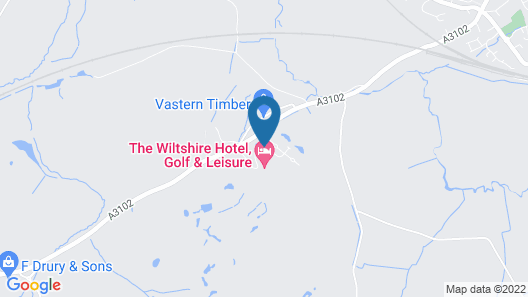 The Wiltshire Hotel Map