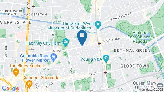 Mama Shelter London - Shoreditch Map