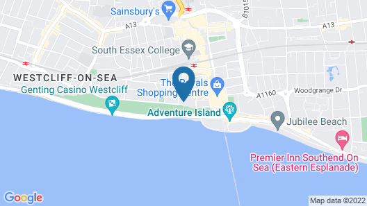 Seven Hotel Map