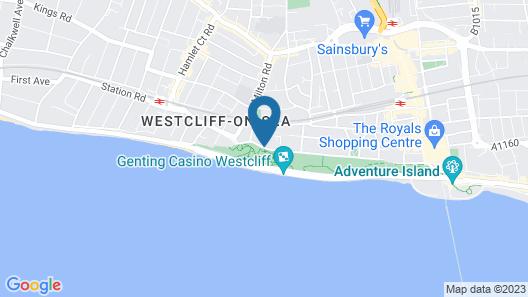 Muthu Westcliff Hotel (Near London Southend Airport) Map