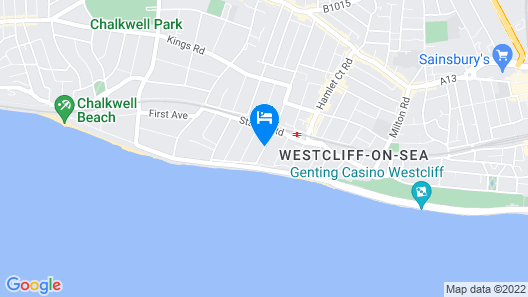 The Welbeck Hotel Map