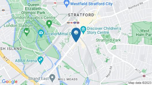 The Westbridge Hotel Map