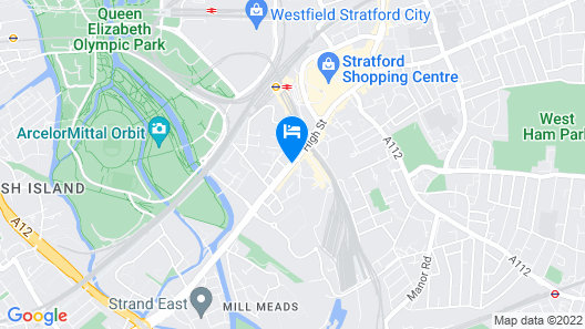 The Westbridge Hotel Map