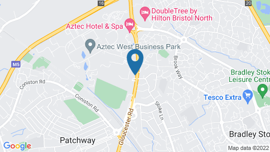Dove Court Mini-Lodge Map