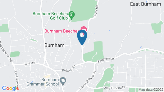 Burnham Beeches Hotel Map