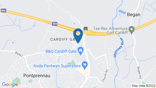 ibis Cardiff Gate - International Business Park Map