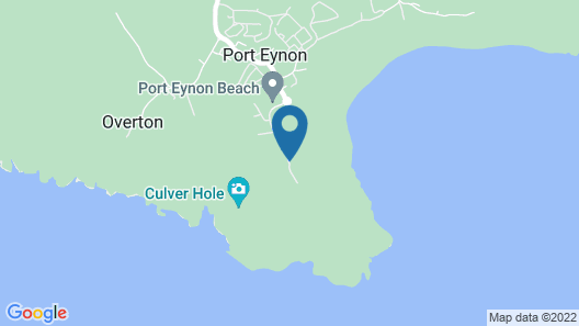 YHA Port Eynon - Hostel Map