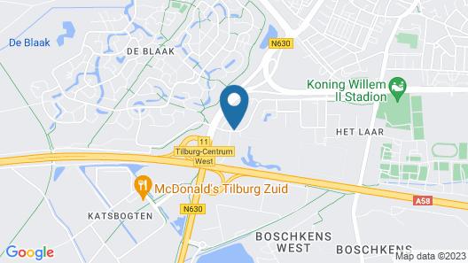 ibis Tilburg Map