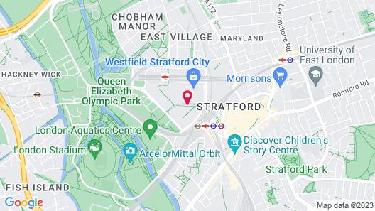 Holiday Inn London - Stratford City Map