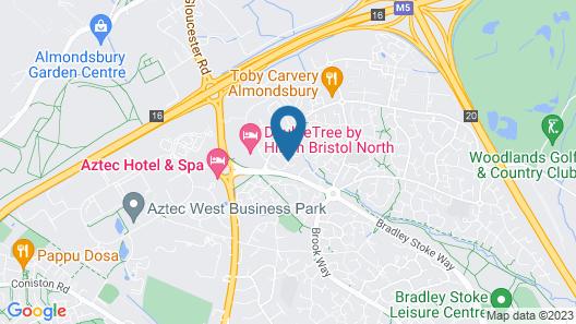 Grange Apartment Map