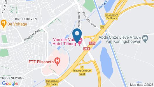 Van der Valk Hotel Tilburg Map