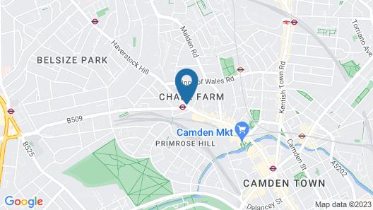 Camden Enterprise Hotel Map