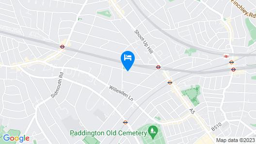 Accomodation London Map