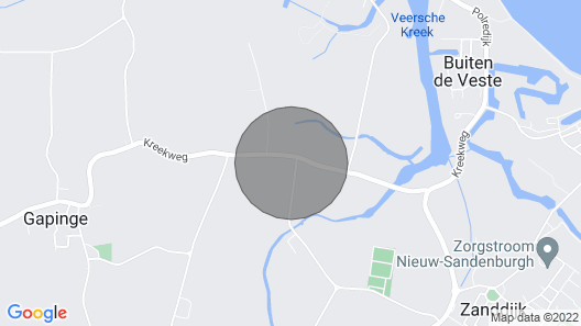 4 Persons Holiday Home in Veere Near the Veerse Lake Map