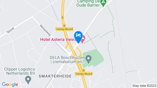 Asteria Hotel Venray Map
