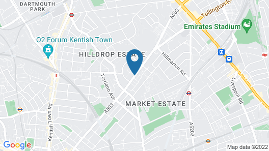 The Dome Camden Map